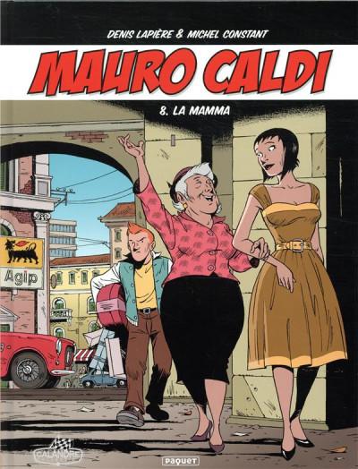 Couverture Mauro Caldi tome 8