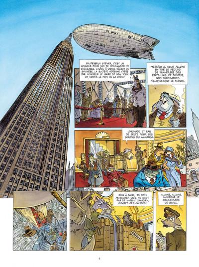Page 4 Les ailes du singe tome 1