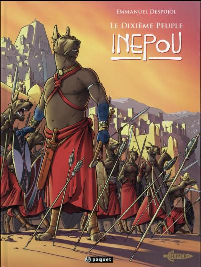 Couverture Le dixième peuple tome 3