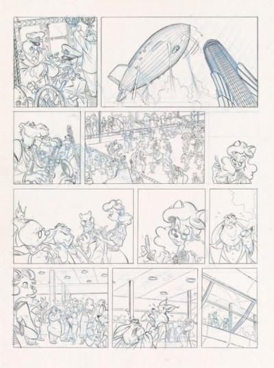 Page 1 Les ailes du singe - luxe grand format