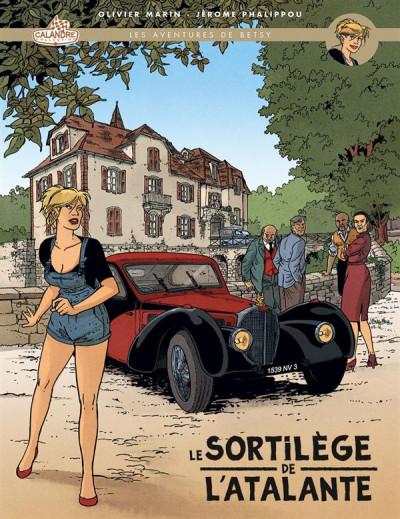 Couverture Les aventures de Betsy - grand format tome 1 - le sortilège de l'atalante