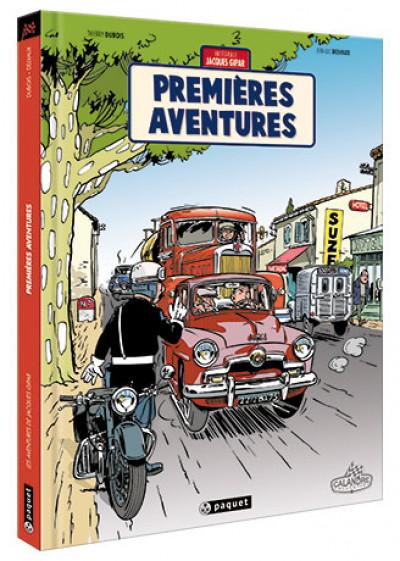 Couverture Les aventures de Jacques Gipar - premières aventures