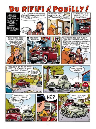 Page 1 Les aventures de Jacques Gipar - premières aventures