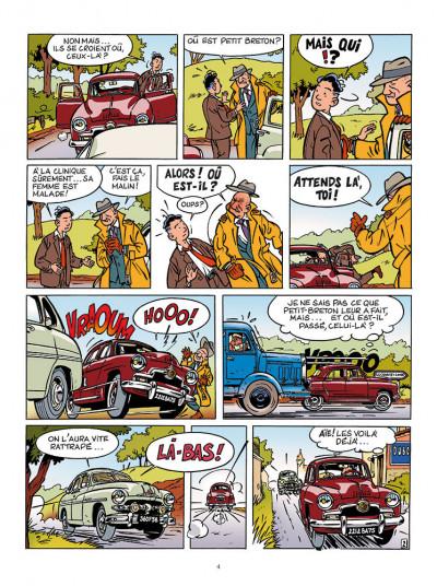 Page 2 Les aventures de Jacques Gipar - premières aventures