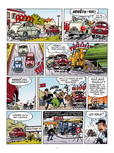 Page 3 Les aventures de Jacques Gipar - premières aventures