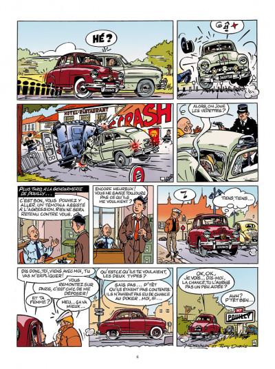Page 4 Les aventures de Jacques Gipar - premières aventures