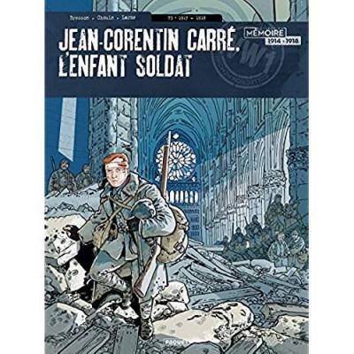 Couverture Jean-Corentin Carré, l'enfant soldat tome 3