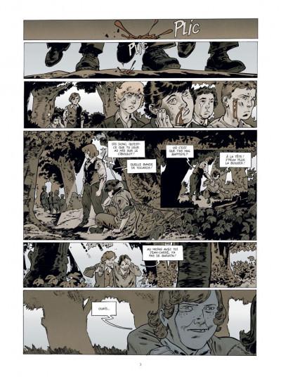 Page 1 Jean-Corentin Carré, l'enfant soldat tome 3