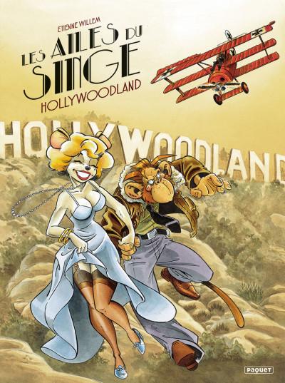 Couverture Les ailes du singe tome 2 - Hollywoodland