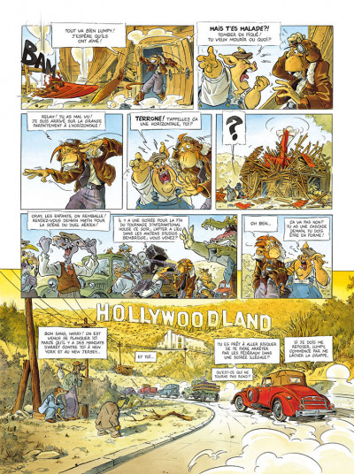 Page 3 Les ailes du singe tome 2 - Hollywoodland