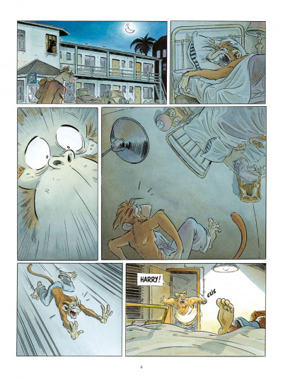 Page 4 Les ailes du singe tome 2 - Hollywoodland