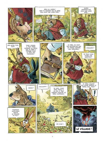 Page 3 L'épée d'Ardenois - intégrale