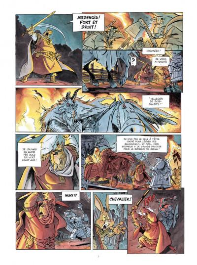 Page 5 L'épée d'Ardenois - intégrale