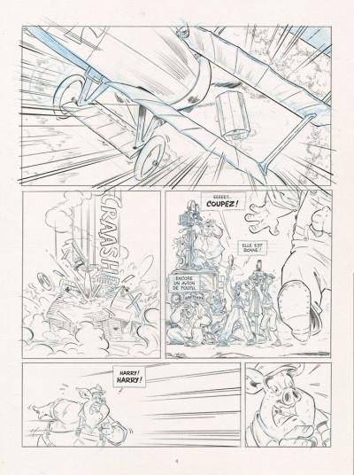 Page 2 Les ailes du singe tome 2 (dos toilé)