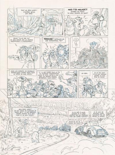 Page 3 Les ailes du singe tome 2 (dos toilé)