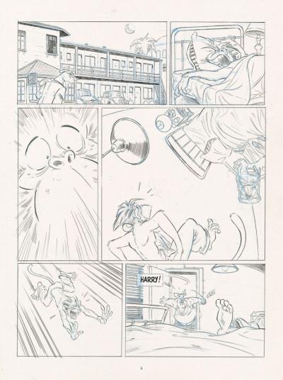 Page 4 Les ailes du singe tome 2 (dos toilé)