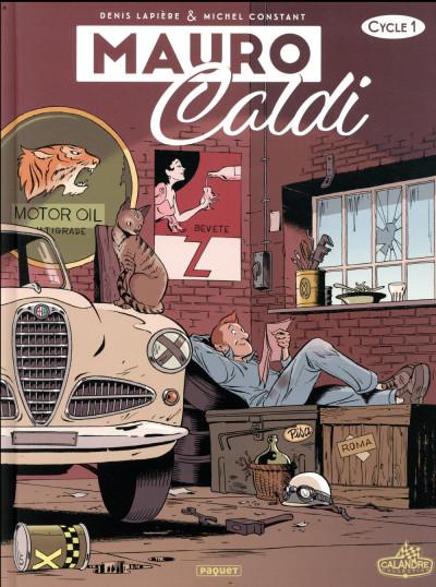 Couverture Mauro Caldi - intégrale tome 1
