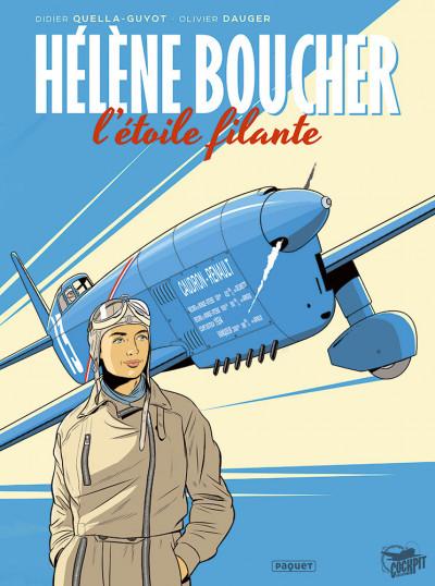 Couverture Hélène Boucher, l'étoile filante