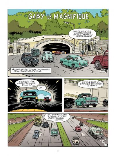 Page 1 Une aventure de Jacques Gipar tome 7 - Gaby le magnifique