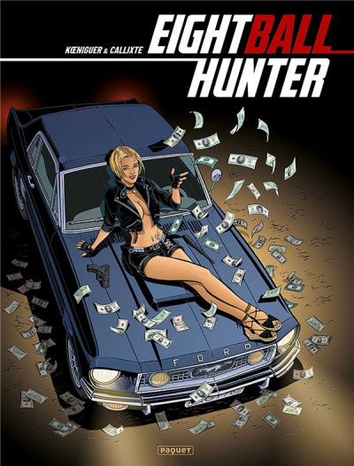 Couverture Eightball Hunter - intégrale