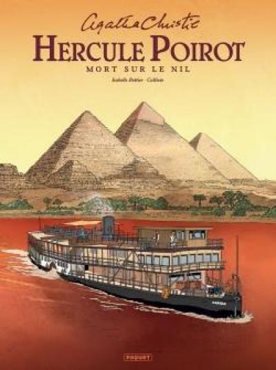 Couverture Hercule Poirot - Mort sur le nil