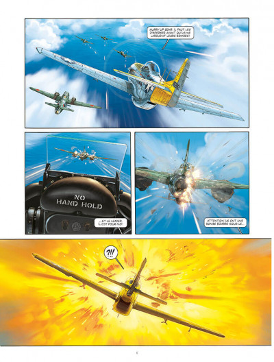Page 4 Angel wings - grand format tome 5