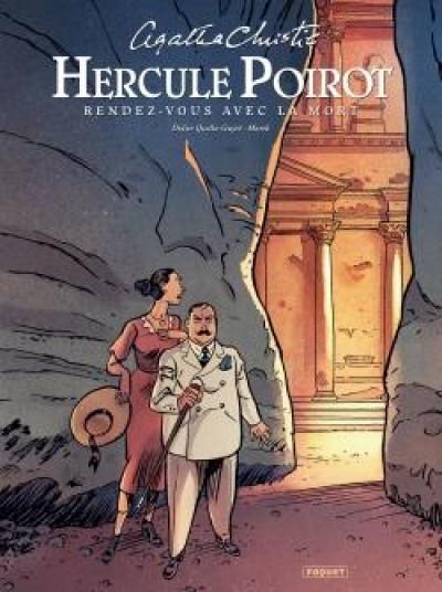 Couverture Hercule Poirot - Rendez-vous avec la mort