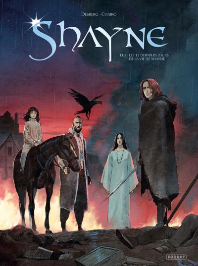 Couverture Shayne tome 1 - Les 15 derniers jours de la vie de Shayne