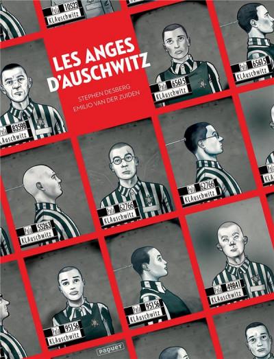 Couverture Les anges d'Auschwitz