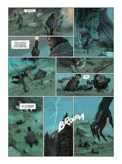 Page 3 La chronique des immortels tome 5