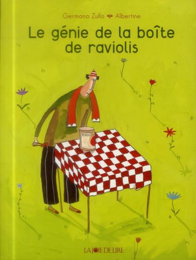 Couverture le génie de la boîte de raviolis