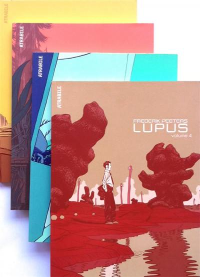 Couverture Lupus Pack (4 tomes + ex-libris)
