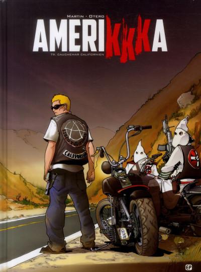 Couverture amerikkka tome 9 - cauchemar californien
