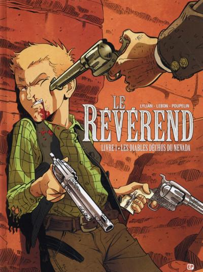 Couverture Le révérend tome 1 - les diables déchus du Nevada