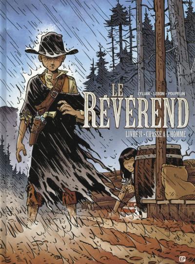 Couverture Le révérend tome 2 - chasse à l'homme