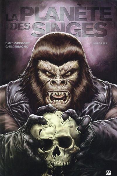 Couverture la planète des singes intégrale