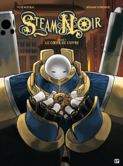Couverture Steam noir tome 1