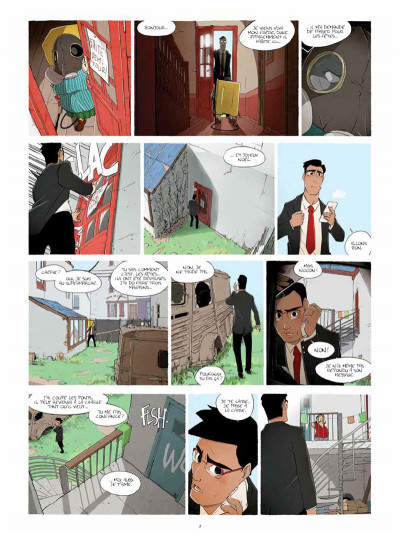Page 5 Parasites tome 1