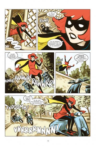 Page 4 Bandette tome 1