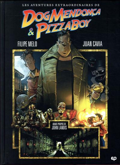 Couverture Les aventures incroyables de Dog Mendoça et Pizzaboy tome 1
