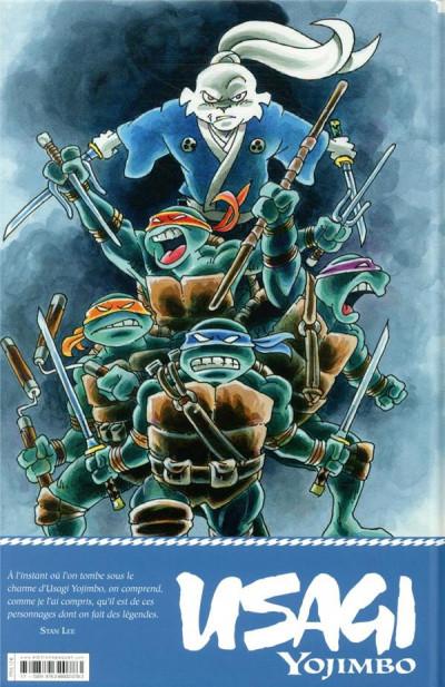 Dos Usagi yojimbo comics - Tortues ninja