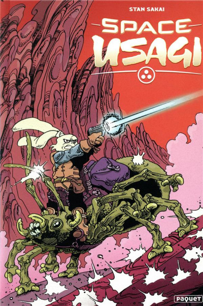 Couverture Usagi yojimbo comics - space usagi