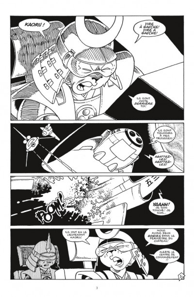 Page 1 Usagi yojimbo comics - space usagi