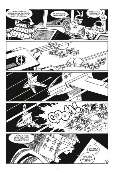Page 2 Usagi yojimbo comics - space usagi