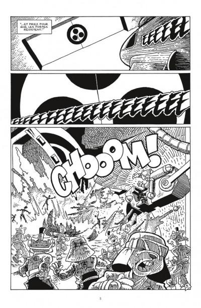 Page 3 Usagi yojimbo comics - space usagi