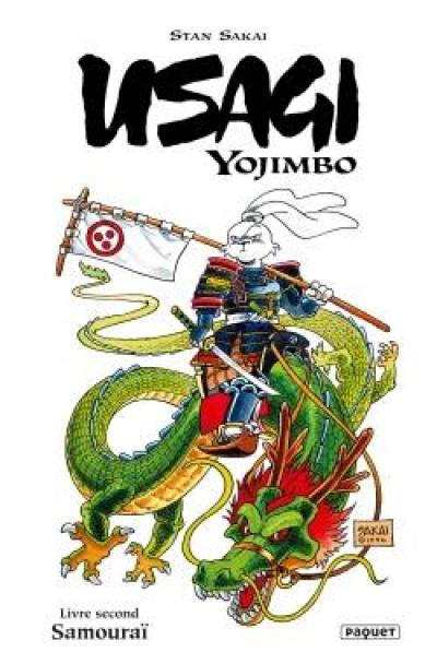 Couverture Usagi yojimbo comics tome 2