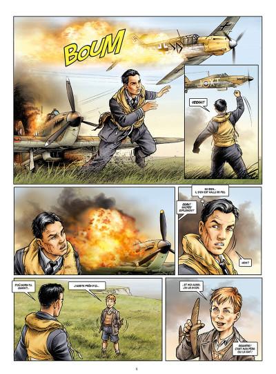 Page 6 Les ailes de l'espérance tome 1