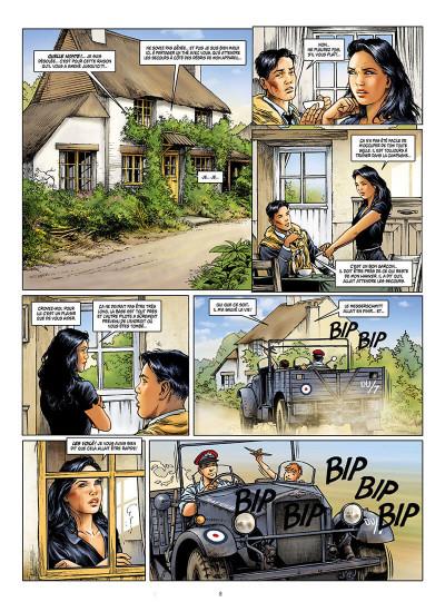Page 8 Les ailes de l'espérance tome 1