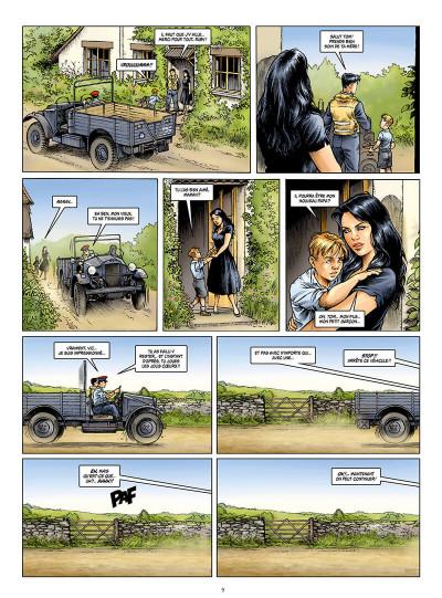 Page 9 Les ailes de l'espérance tome 1
