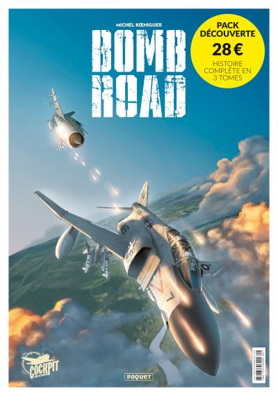 Couverture Bomb Road - étui tomes 1 à 3